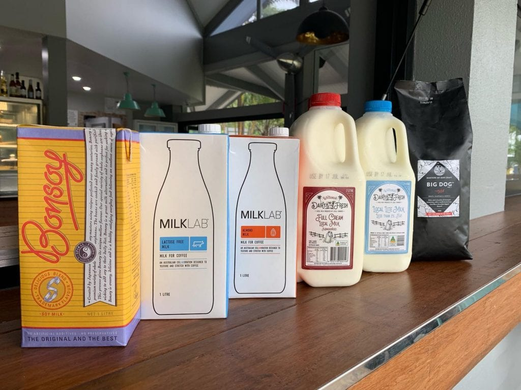 The Hangar Milk Varieties